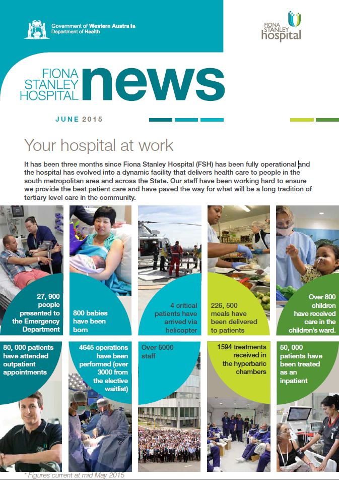 Fiona Stanley Hospital, FSH , news, front page