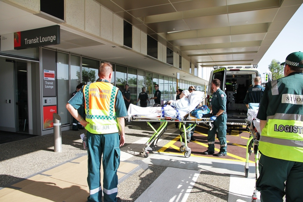 Patient move from Royal Perth Hospital to Fiona Stanley Hospital on 7 February 2015